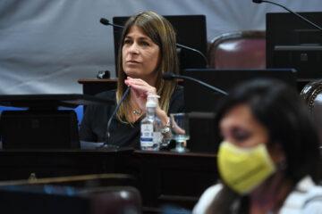 Sesi—n ordinaria remota del Senado de la Naci—n en la que homenajearon a  Diego Armando Maradona, el 26 de noviembre 2020, en Buenos Aires; Argentina ((Fotos: CELESTE SALGUERO / Comunicaci—n Senado).-